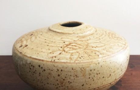 Esias-Bosch,-A-Stoneware-Vase-(diam-30cm)