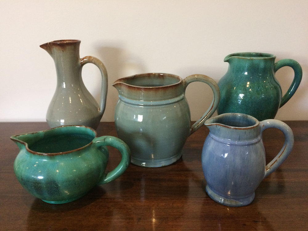 Linnware Collection of Jugs